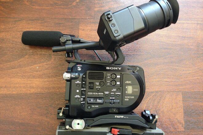 Sony FS7 viewfinder