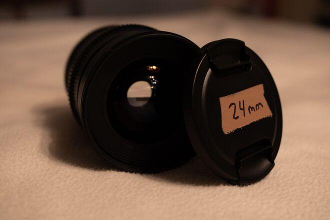 Rokinon Cine DS 24mm T1.5