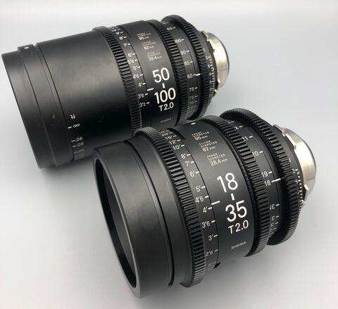 Sigma Cine Zooms Lens Set  for PL, EF or Sony E-mount