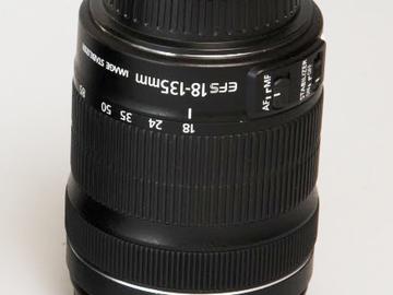 Rent: Canon 18-135 Lens