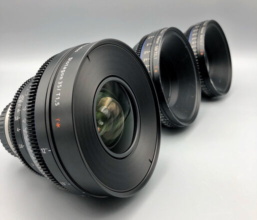 Zeiss  Compact Prime CP.2 Lens Set  - EF Mount or Sony E