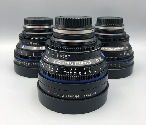 Zeiss  CP2 Lens Set  - EF or Sony E- Mount