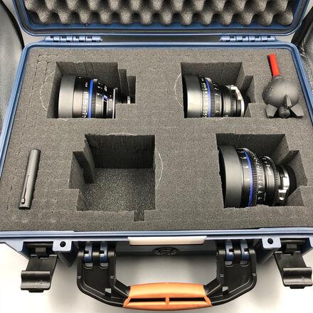 Zeiss CP2 Lens Set (3) EF MOUNT