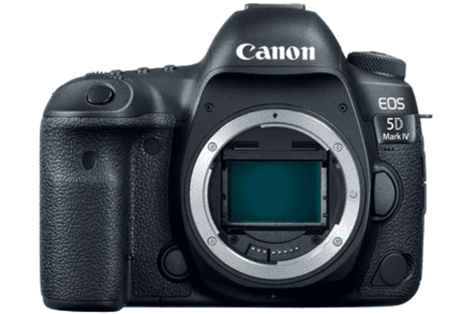 Canon EOS 5D Mark IV (with two batteries)