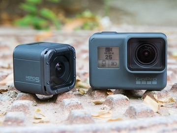Rent: GoPro Hero 5 + Hero 5 session (2 cams)