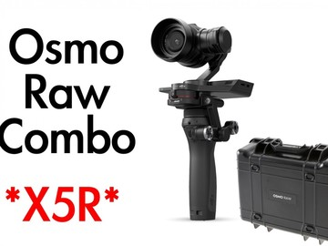 Rent: DJI Osmo RAW + Panasonic/Olympus Lenses + DJI Focus