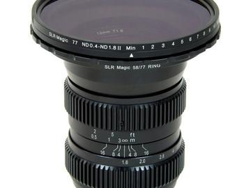 Rent: SLR Magic MFT 4 Lens Set For BMPCC / GH4 12, 17, 25, 35mm