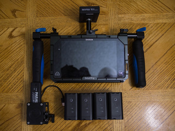Rent: Atomos Shogun Wireless Directors Monitor Paralinx Arrow Plus