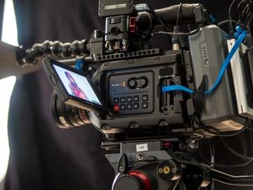 Rent: Blackmagic Ursa Mini 4.6k w/ Rokinon Lenses, 2TB of Media +