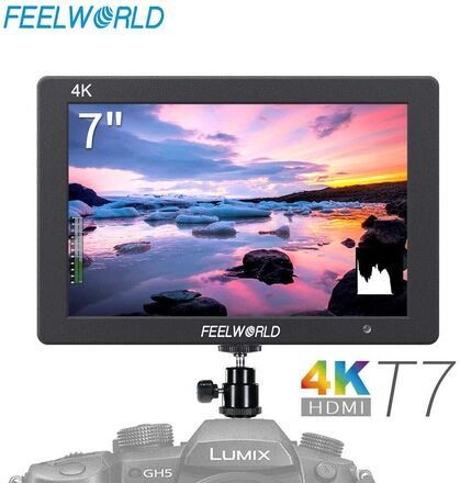 Feelword T7 Field Monitor 7 Inches w Video Assist Full HD