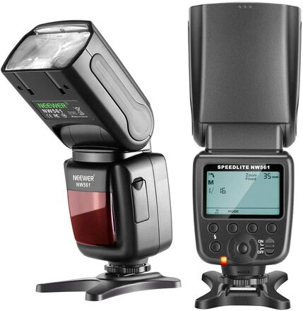 Neewer NW 561 Speedlight on Camera Flash with LCD