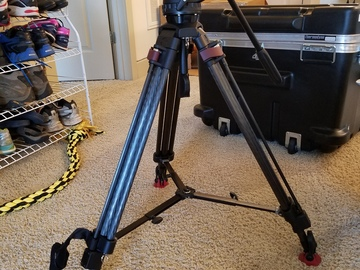 Rent: Sachtler FSB-6T Head with 75CF Tripod