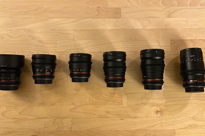Rokinon Cine DS Set - 6 Lenses (Full Frame)
