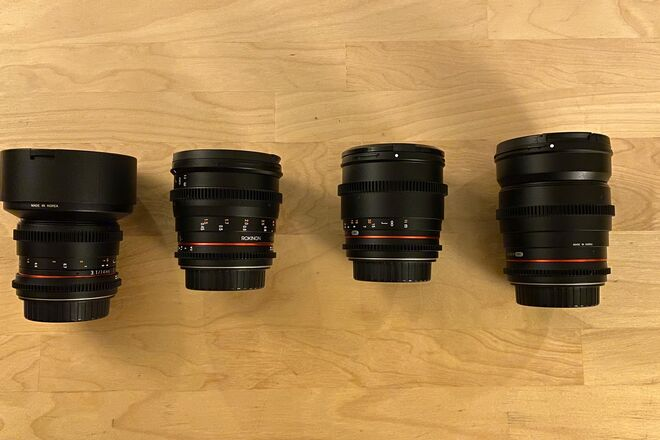 Rokinon Cine DS Set - 4 Lenses (Full Frame)