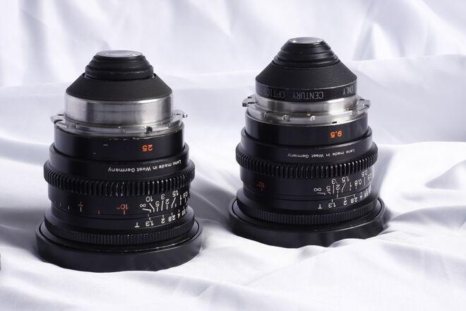 Zeiss Super Speed Mark II Super 16 Lenses 9.5mm & 25mm Lens