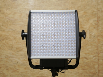 Rent: Astra LED Panel 1x1 Set of 2 with Light Stands Gold Mount
