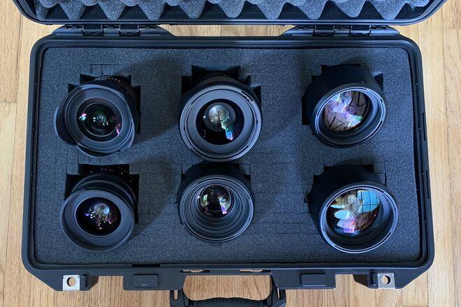 Rokinon Cine DS (6 Lens) Set  - Canon EF -14/24/35/50/85/135