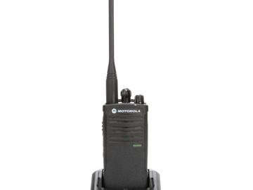 Rent: Motorola Model RDU4100, RDX Series Two-Way UHF Radio