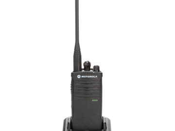 (2) Motorola Model RDU4100, RDX Two-Way UHF Radio