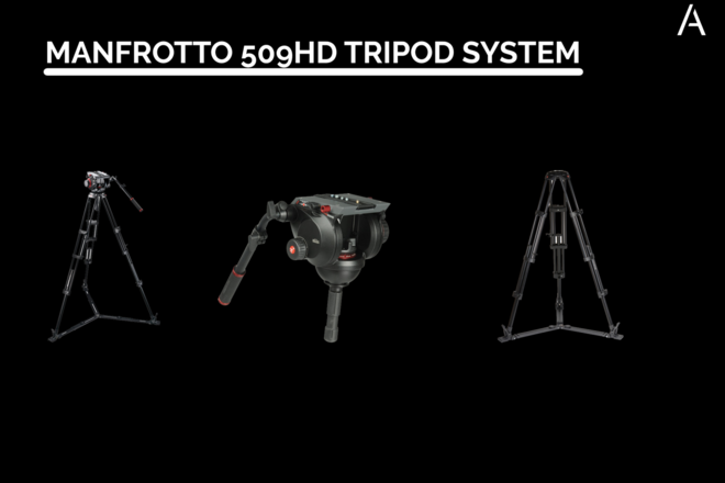 Manfrotto 509HD and 545GBK Tripod with Video Head