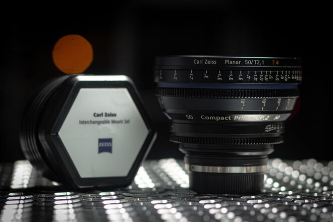 50mm Zeiss Compact Prime CP2 T2.1 - PL / EF Mount