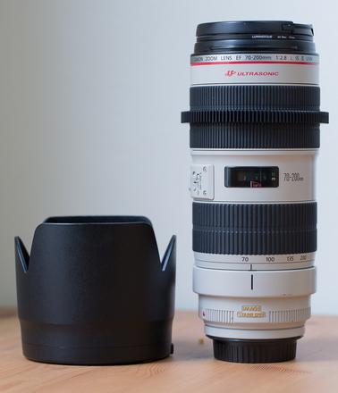 Canon 70-200mm 2.8L II IS (geared)