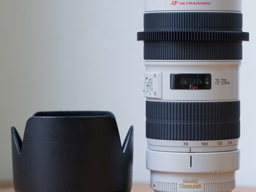 Rent: Canon 70-200mm 2.8L II IS (geared)