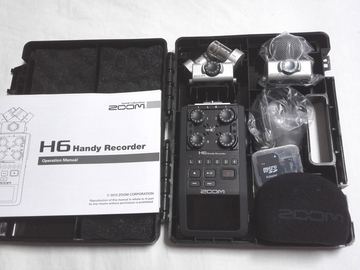 Interview Audio Package : H6N Recorder and Two Lavaliers