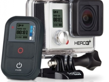Rent: GoPro Hero 3+ Black with Optional Various Mounts