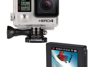Rent: GoPro Package : Hero 4 Black (x2), LCD BacPac, and More