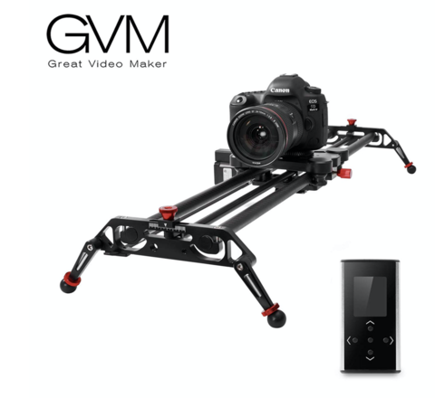 GVM Camera Motorized Slider 38' Carbon Fiber
