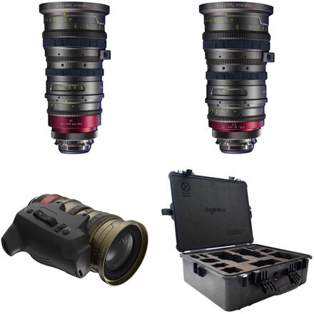 Angenieux EZ-1 (30-90mm or 45-135) & EZ-2 (15-40 or 22-60)