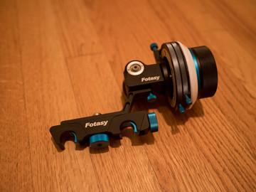Rent: Fotasy Quick Release Follow Focus (for 15mm rails)
