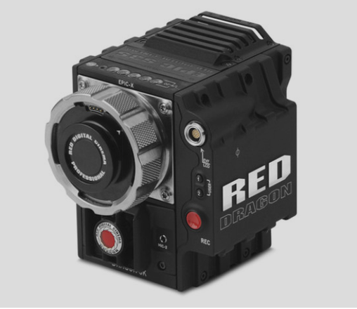 RED Epic Dragon 6K camera body plus lens mount