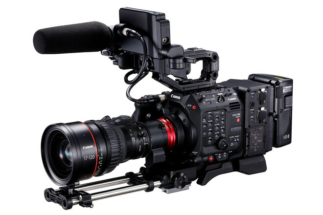 Canon EOS C500 Mark II with Canon CN7x17
