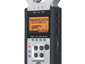 Rent: Zoom H4n 4-Channel Handy Recorder