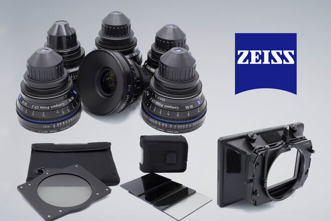 Zeiss  Compact Prime CP.2 Super Speed 6 lens PL mount kit