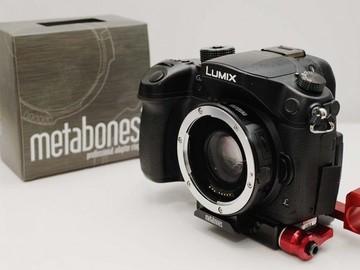 Rent: Panasonic GH4 w/ Metabones Speedbooster EF-MFT