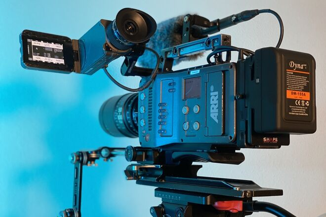 ARRI Amira Camera Kit Ready To Shoot! (no lights or lenses)