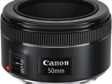 Rent: Canon EF 50mm f/1.8 STM Lens