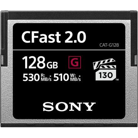 Sony 128GB CFast 2.0 G Series Memory Card (510MB/s)