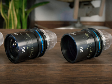 Rent: Celere Lenses + Macro + Gimbal Kit + Matte box + Filter Set