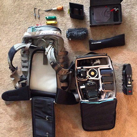 RED EPIC Ultimate Backpack Package w/ canon lenses