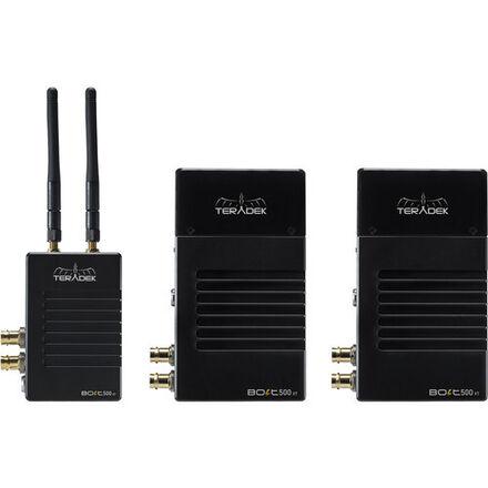 """Teradek Bolt 500 3G-SDI/HDMI / 1 Trans / 2 receiv. / 5"""" Mon."""