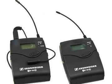 Rent: Wireless Lavalier Kit - Sennheiser EK 100 (x 2 SETS)