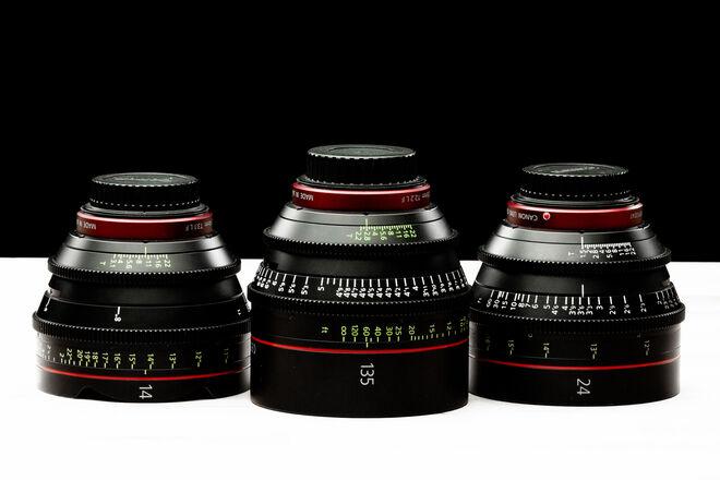Canon CN-E Cinema Prime Set (PICK 3)