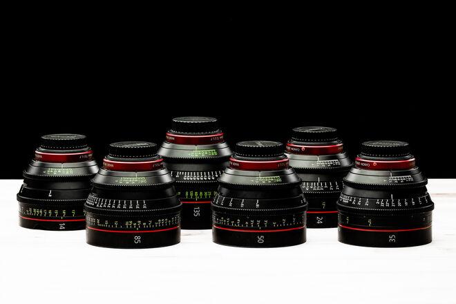 Canon CN-E Cinema Prime (6) Lens Set
