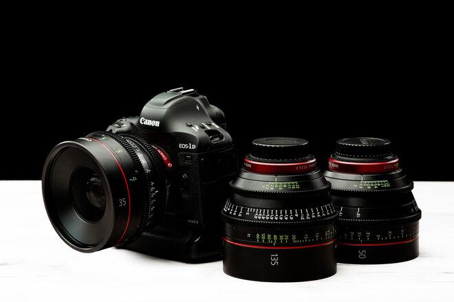 Canon EOS-1D X Mark II w/ CN-E Primes (6)