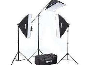 Rent: Fovitec studioPro Interview Light Kit