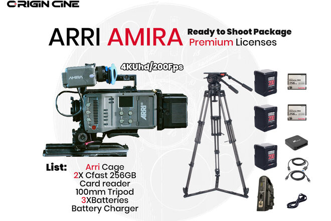 ARRI AMIRA 4KUHD Premium 200FPS High Speed License 01